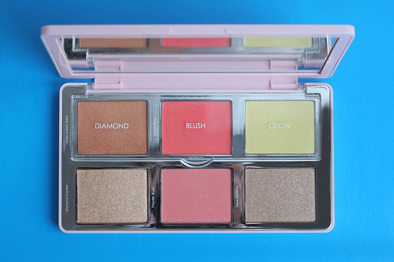 Natasha Denona Diamond & Blush Palette #02 Citrus, Natasha Denona Diamond & Blush Palette review