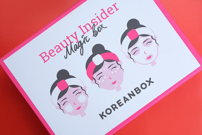коробочка с корейской косметикой, KoreanBox от Beauty Insider