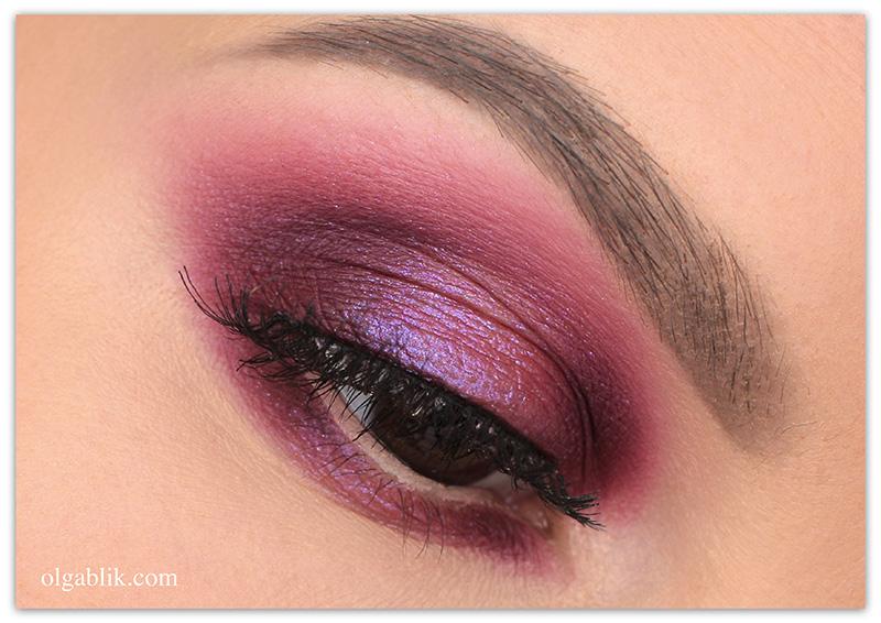 Макияж с розовыми тенями, Макияж с розовыми тенями для карих глаз, Макияж с розовыми тенями фото
