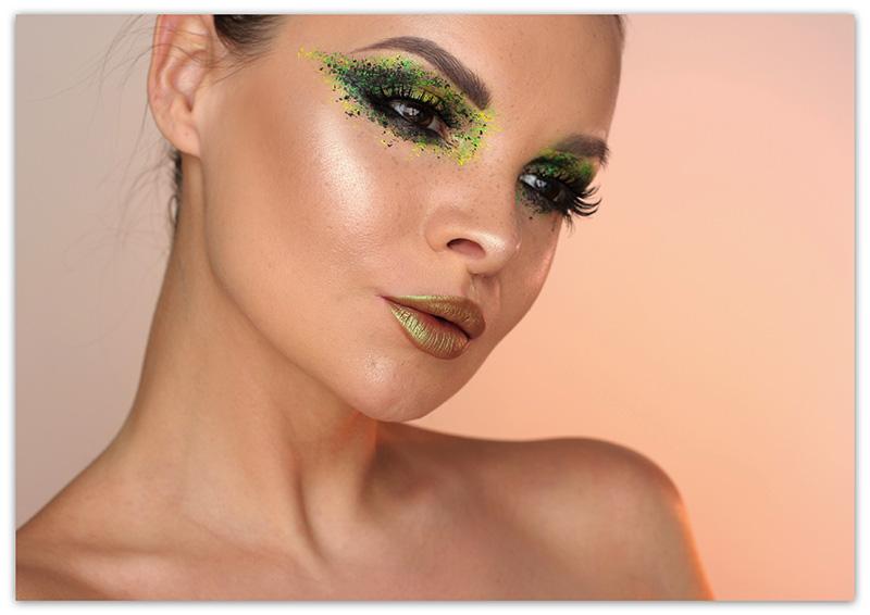 Образ женщинырыбы - макияж
