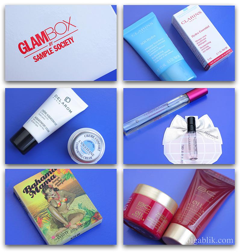 Glambox январь, Glambox январь, Glambox обсуждения, Glambox отзывы