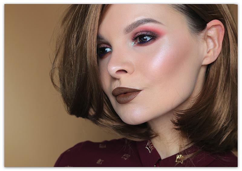 Juvia's Place Douce Palette Makeup Look