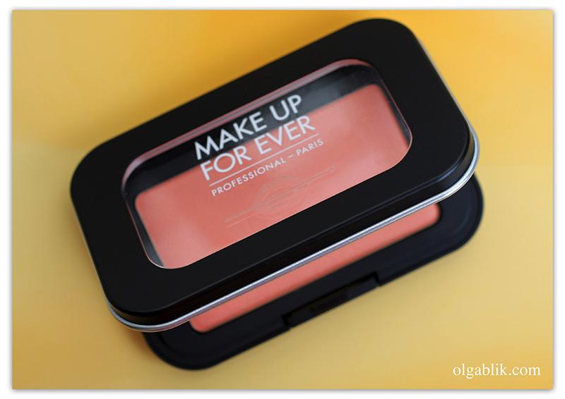 Make Up For Ever Artist Face Color, отзывы, фото, румяна Make Up For Ever