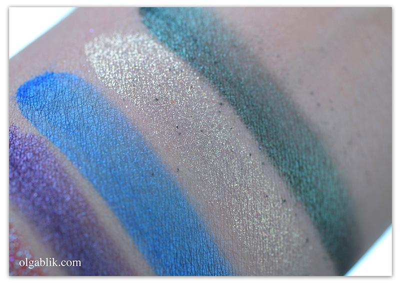 Рассыпчатые тени Make up secret