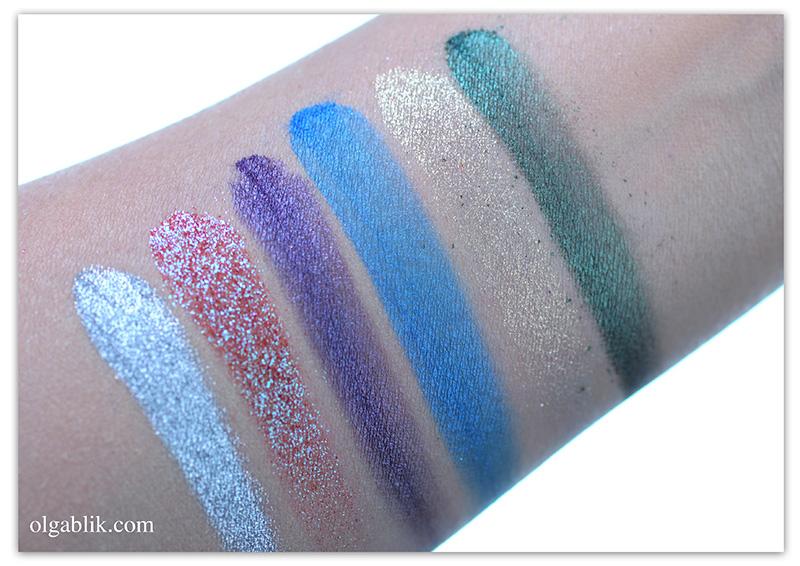 Рассыпчатые тени Make up secret - отзывы и фото и свотчи