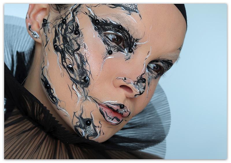 креативный макияж, как арт-объект