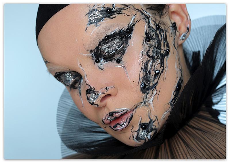 макияж, как арт-объект
