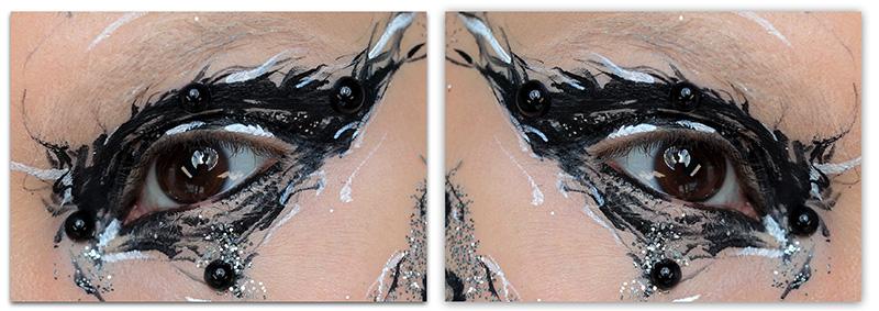 Креативный макияж 2018-2019, фото, Креатив в макияже