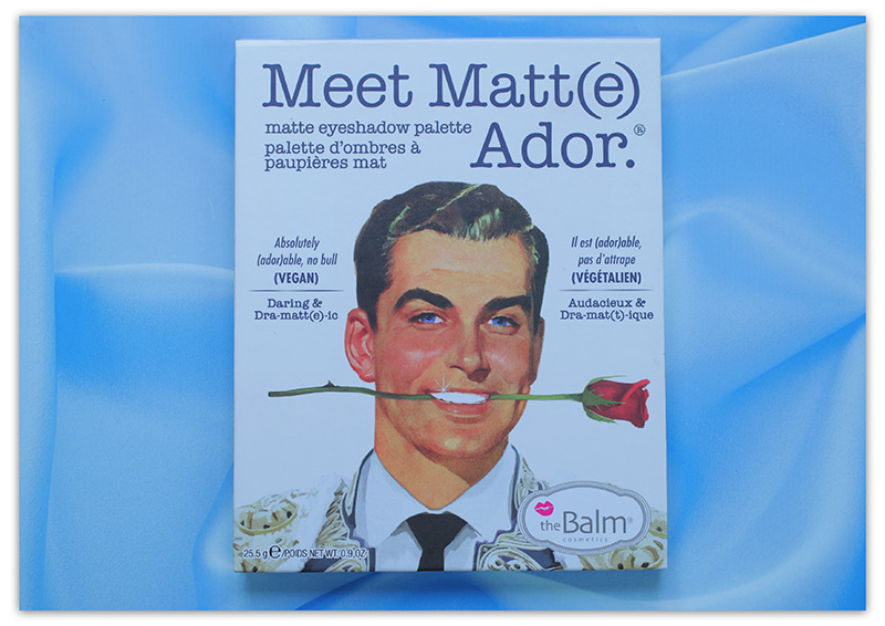 The Balm Meet Matt(e) Ador Matte Eyeshadow Palette, The Balm Meet Matt(e) Ador Matte Eyeshadow Palette отзывы, палетка теней The Balm Meet Matt(e) Ador Matte Eyeshadow Palette