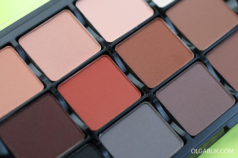 Viseart Neutral Matte 01 Eyeshadow Palette Makeup