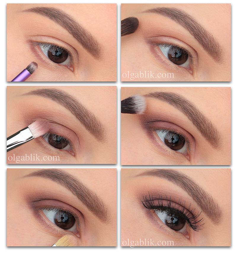makiyazh-dlya-navisshih-vek-poshagovo, макияж длясильнонависших век, макияж длянависшего века и увеличения глаз, макияж для нависших векпошагово, макияж для нависших векфото урок