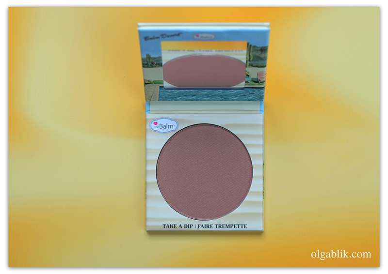 theBalm Balm Desert Bronzer Blush, Бронзер для лица theBalm Balm Desert Bronzer Blush, theBalm отзывы