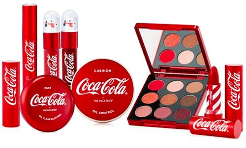 Coca-Cola X The Face Shop, Новинки косметики 2018, Новинки декоративной косметики