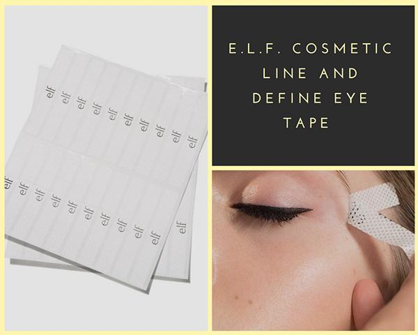 Полоски для макияжа глазE.L.F. Cosmetic Line and Define Eye Tape, новинки декоративной косметики 2018