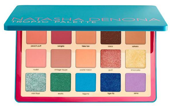 Палетка Natasha Denona Tropic Eyeshadow Palette