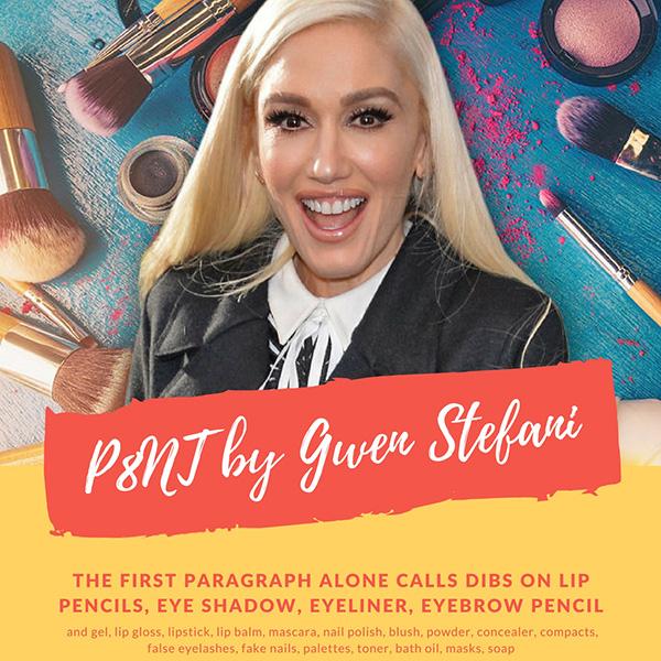 Новый косметический бренд отGwen StefaniP8nt, новинки декоративной косметики 2018