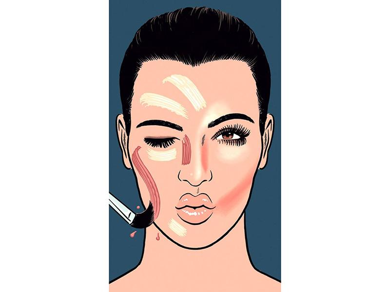 Как скульптурировать лицо