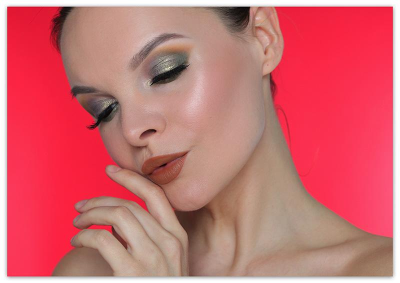 Как наносить тени цвета хаки - фото и макияж