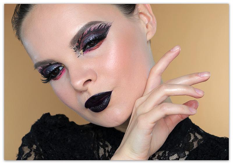 Макияж на Хэллоуин 2019 - фото, идеи, образ для девушек