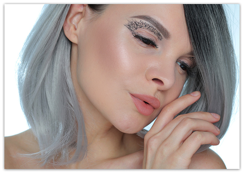 Ажурный макияж, фото