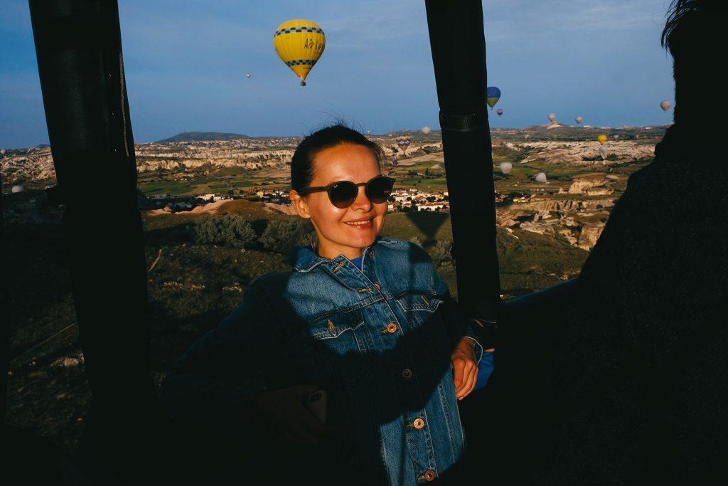 Каппадокия полет на воздушном шаре