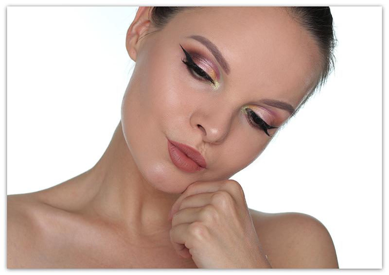Стрелки для круглых глаз - фото и макияжа