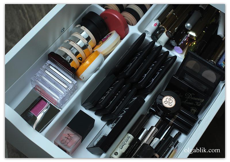 хранение косметики купить, где хранить косметику, хранение косметики икеа, органайзер для косметики
