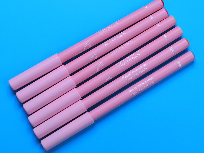 Косметика SODA Makeup - отзывы на карандаши, фото и свотчи