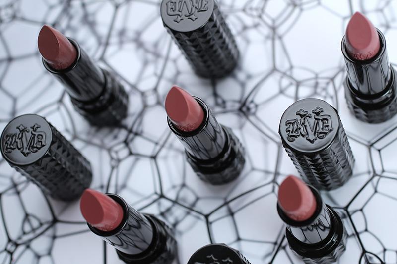 Kat Von D Studded Kiss Creme Lipstick, помада Kat Von D, отзывы, фото