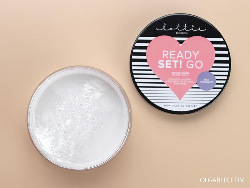 Прозрачная рассыпчатая пудра Lottie London Translucent Setting Powder, отзывы, фото