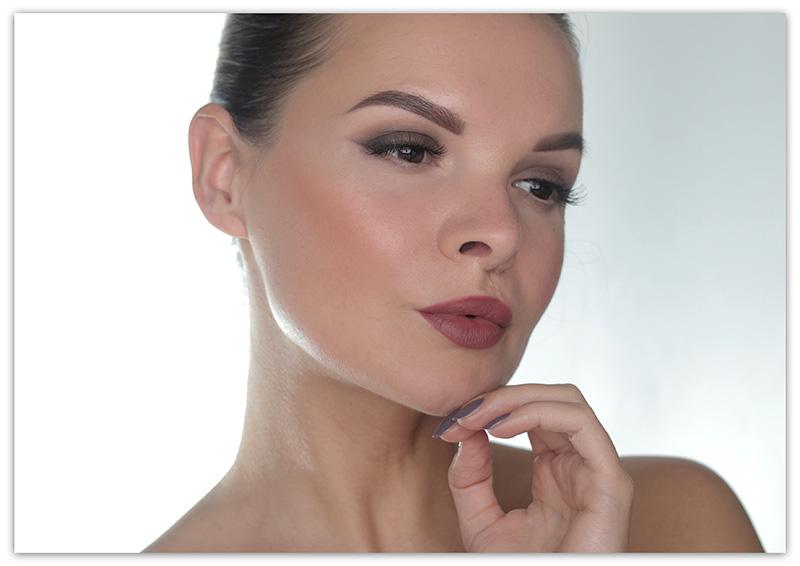 Kat Von D Shade+Light Eye Contour Palette Makeup Tutorial, макияж с палеткой Kat Von D Shade+Light Eye Contour Palette