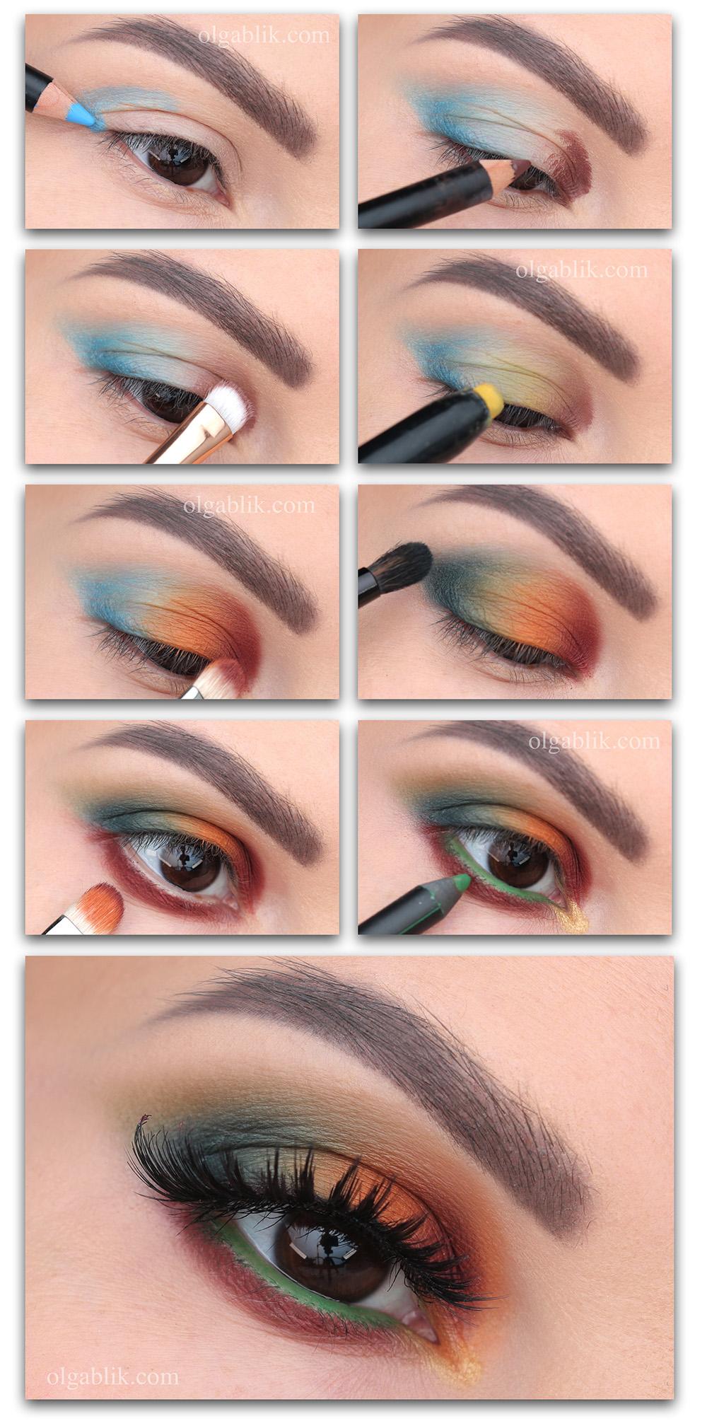 Макияж глаз карандашом - пошаговый фото-урок