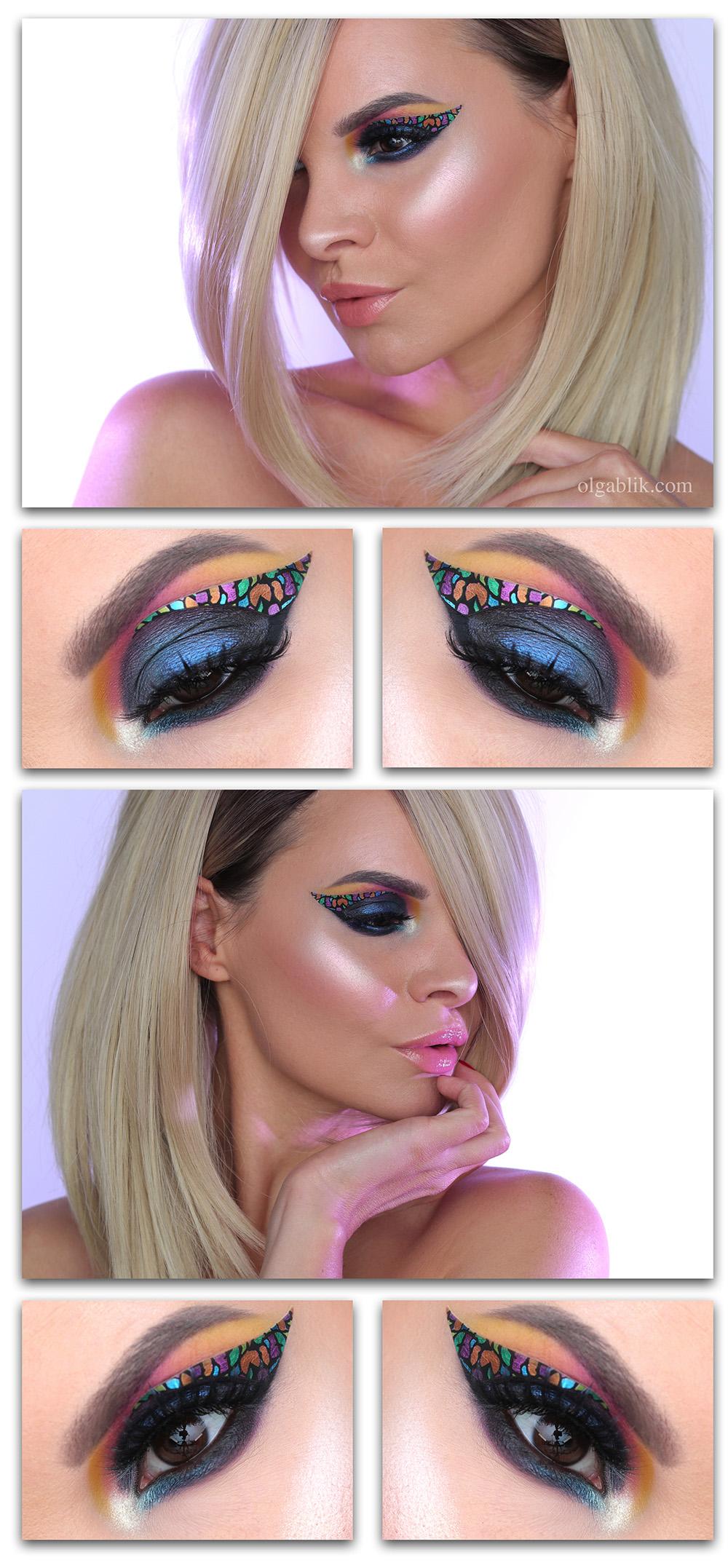 Декоративные наклейки для макияжа, отзывы, фото