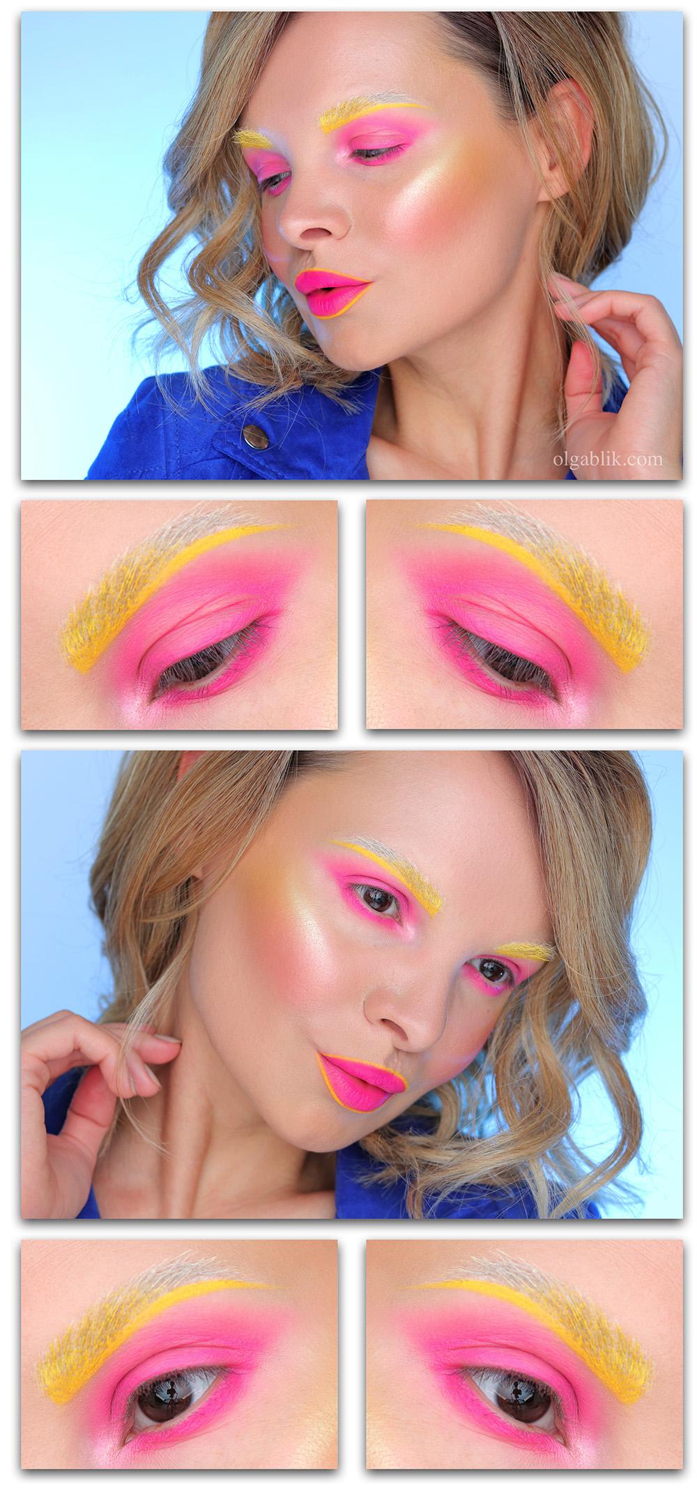 Креативный макияж для фотосессии своими руками