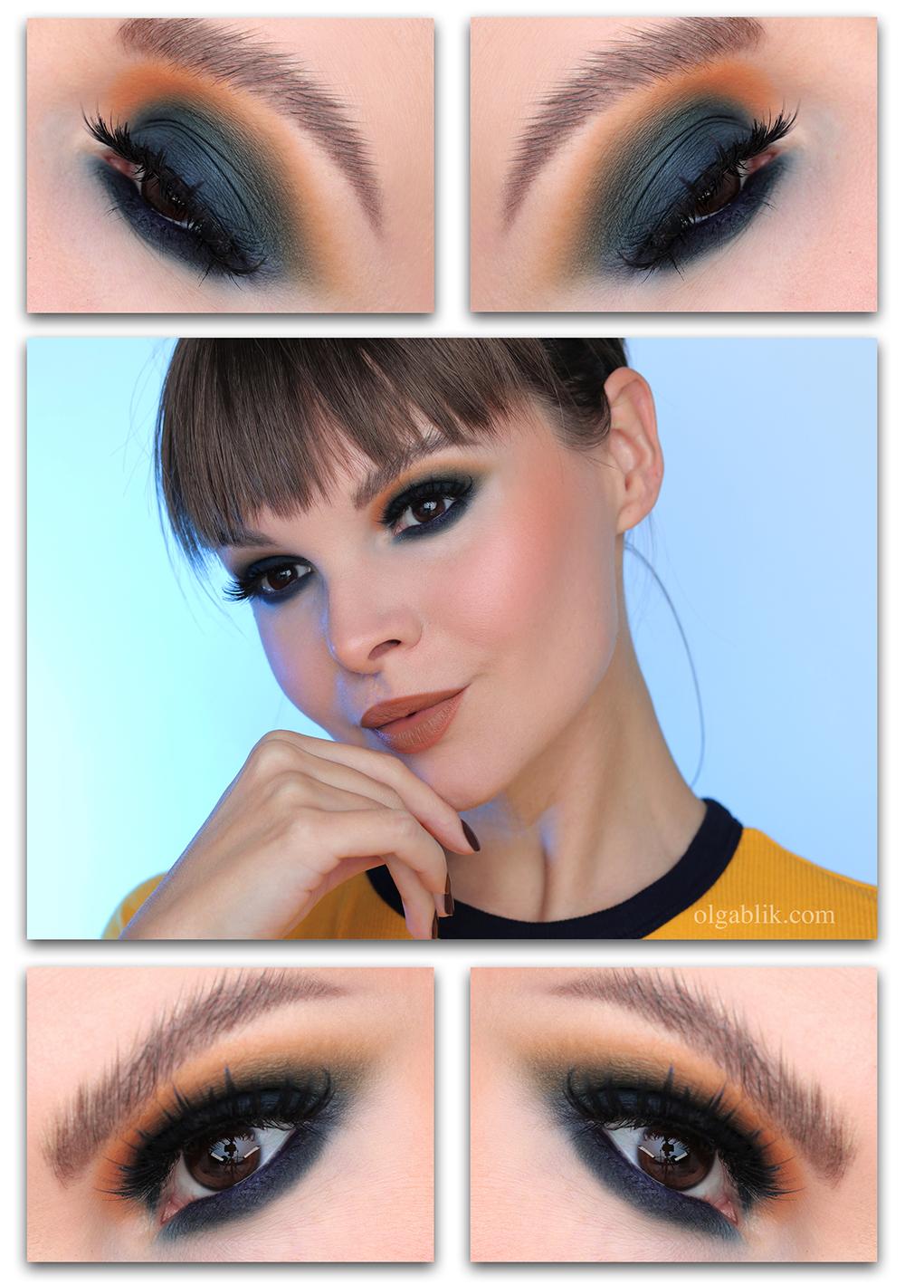 Матовые Смоки айс - макияж пошагово фото-урок