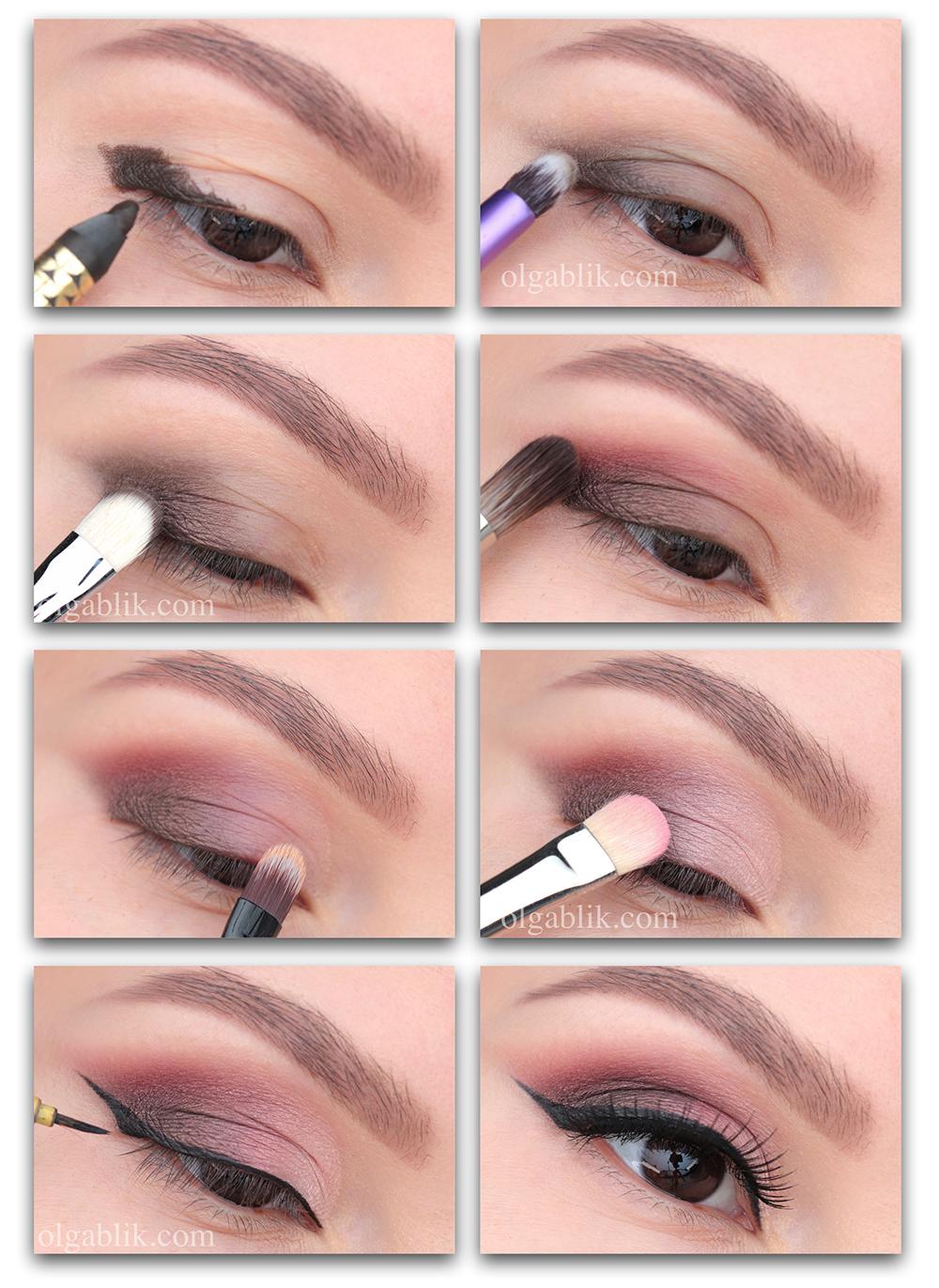 Свадебный макияж 2019 пошагово для карих глаз