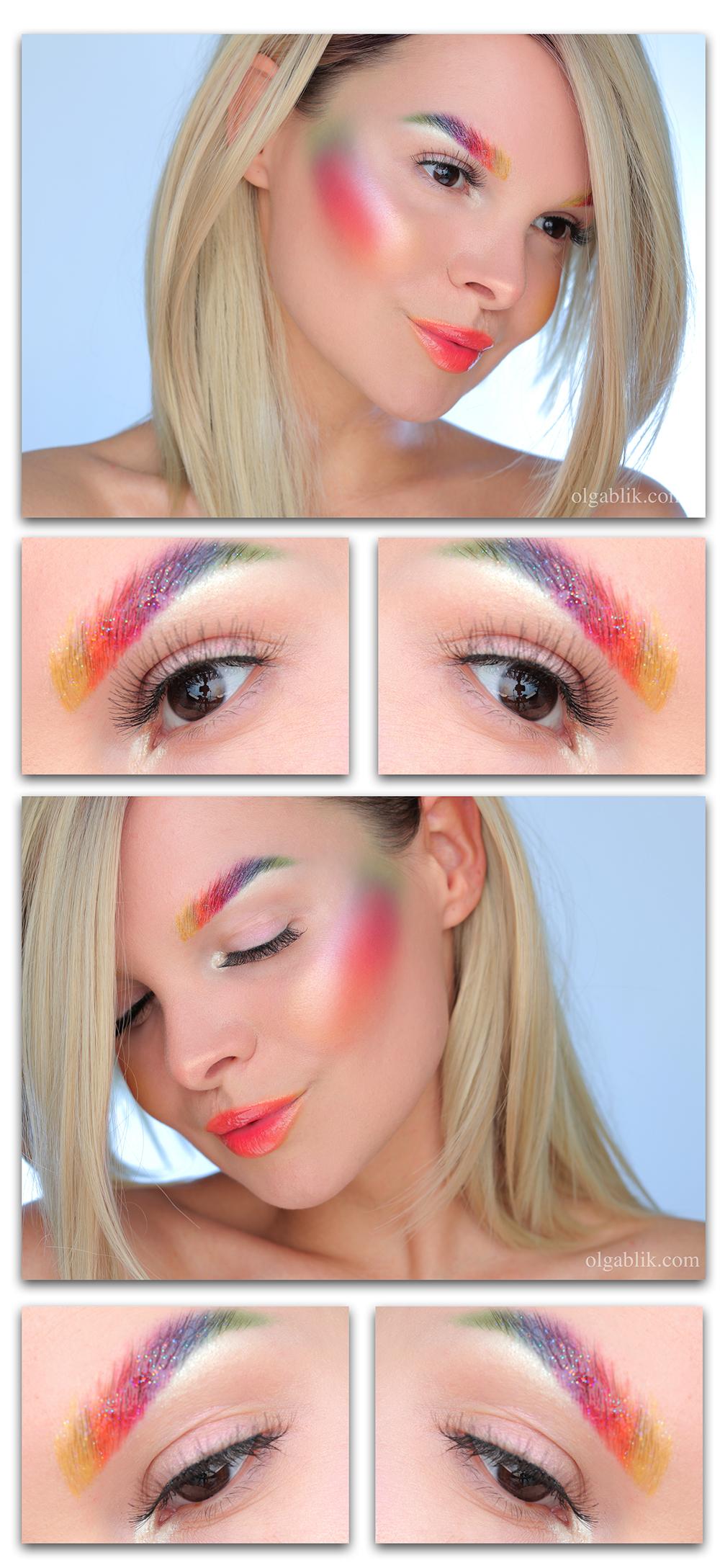 Креативный макияж пошагово, креативный макияж