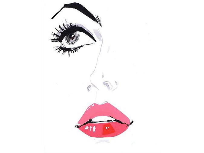 Тинт для губ, Губы накрашенные тинтом, Тинты для губ