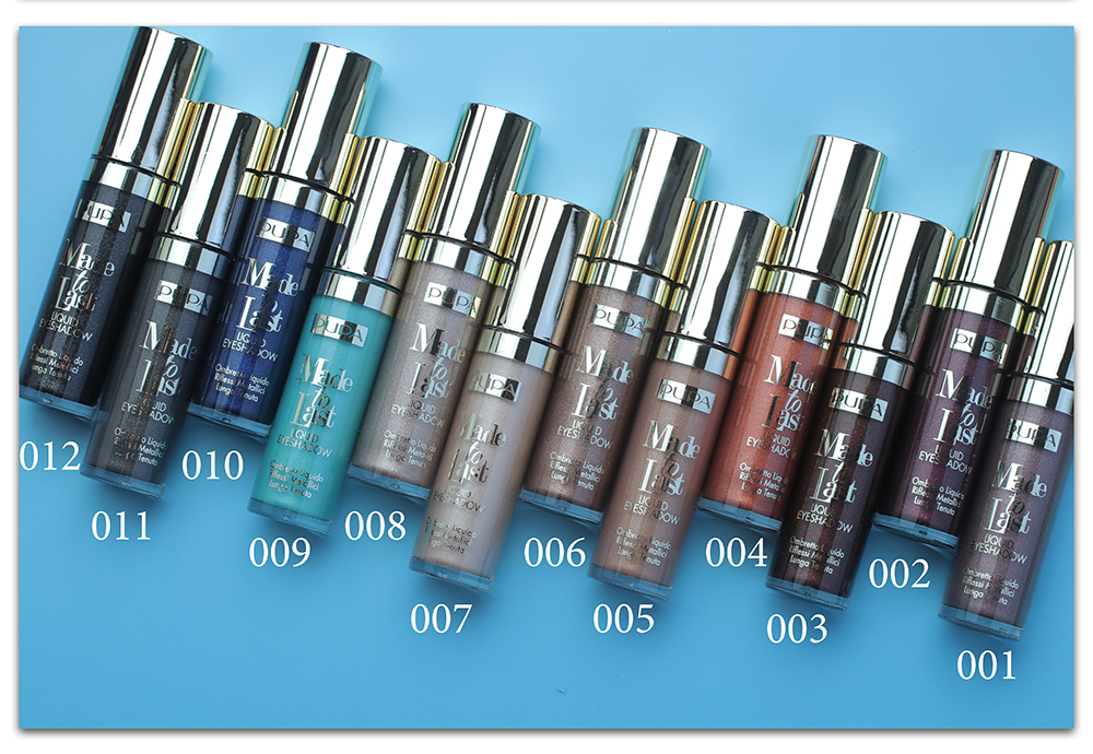 Тени для век Pupa Made To Last Liquid Eyeshadow