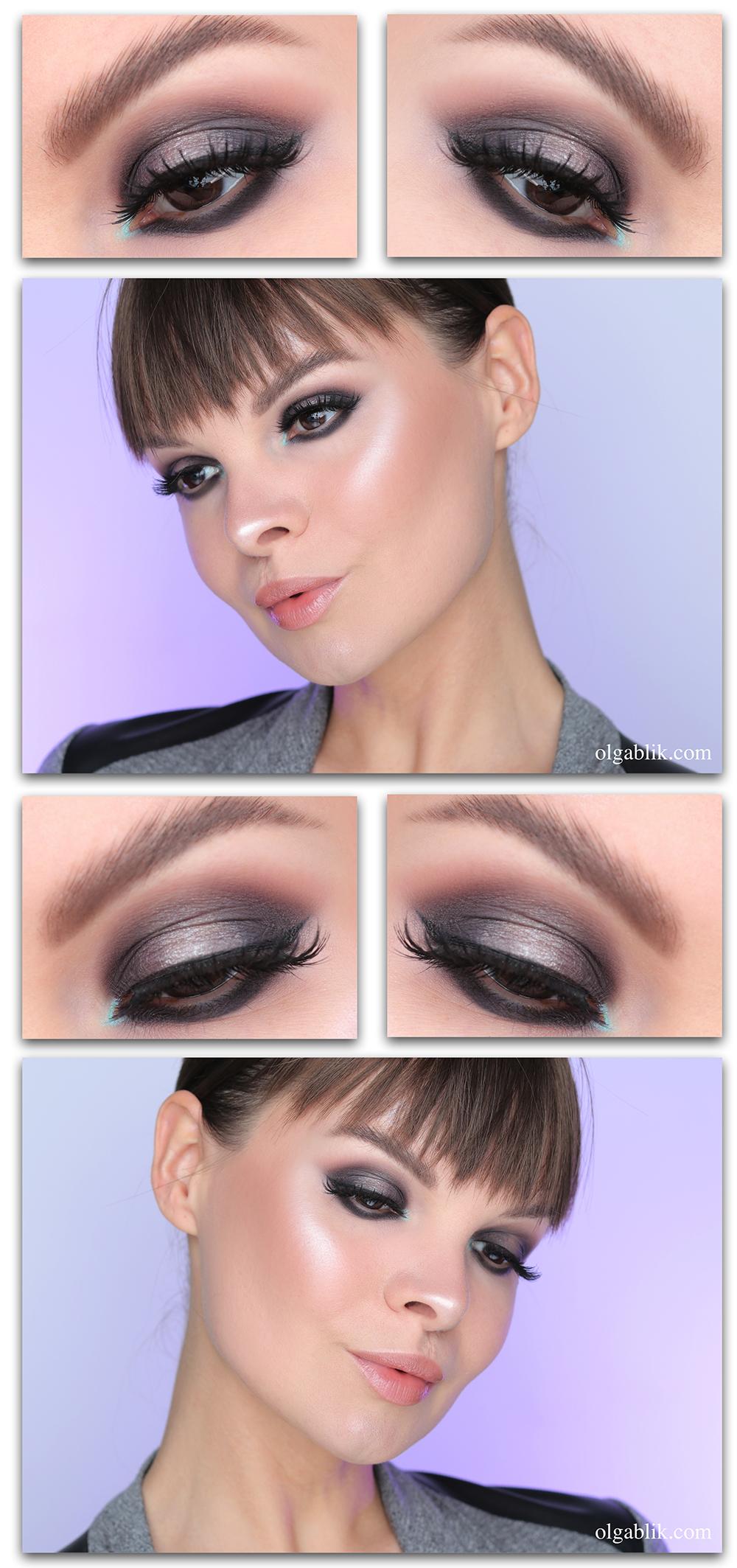 Как сделать макияж Смоки айс, Глаза смоки айс, смоки айс фото