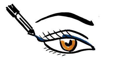 Стрелки на глазах, стрелки фото, как нарисовать стрелки