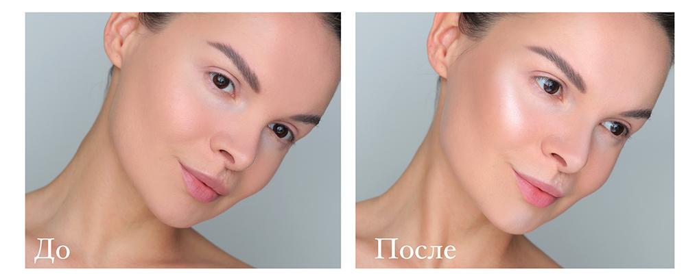 Скульптурирование лица, контуринг, скульптурирование лица пошагово, до и после, фото