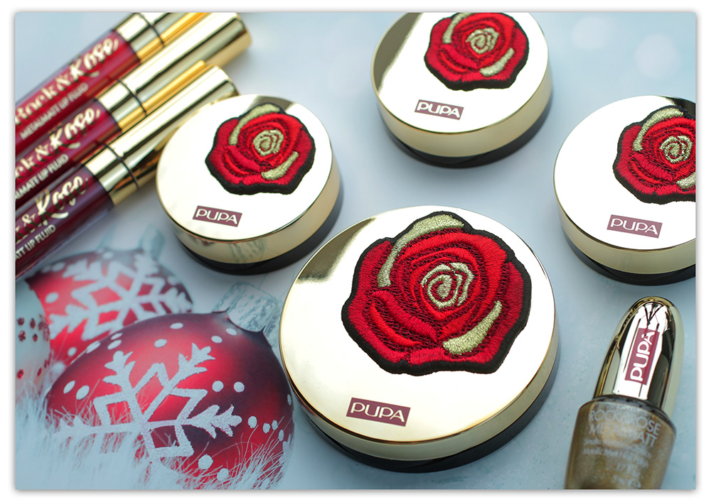 Pupa Milano Rock & Rose Makeup Collection Holiday 2018, отзывы Пупа Рождество, фото Пупа