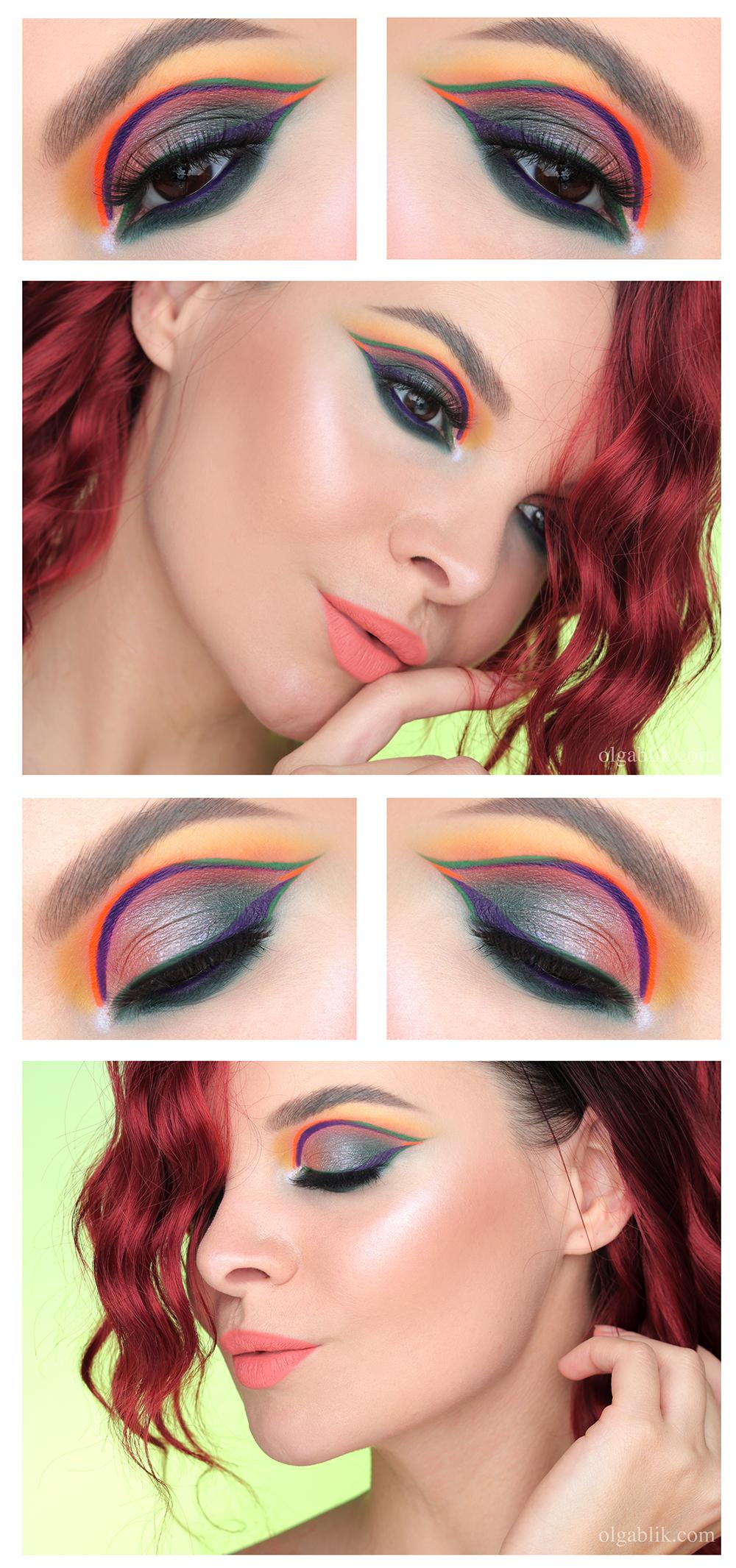 Креативные стрелки, Креативные стрелки на глаза, Стрелки на глазах макияж