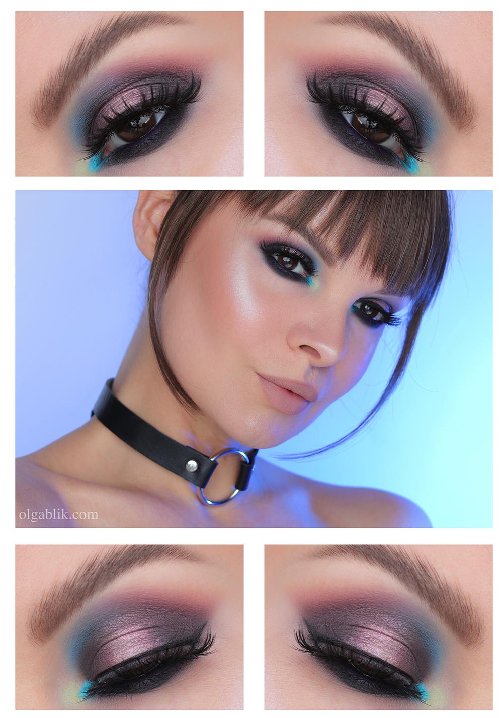 Макияж глаз Smoky Eyes, макияж глаз фото, Смоки Айс макияж глаз