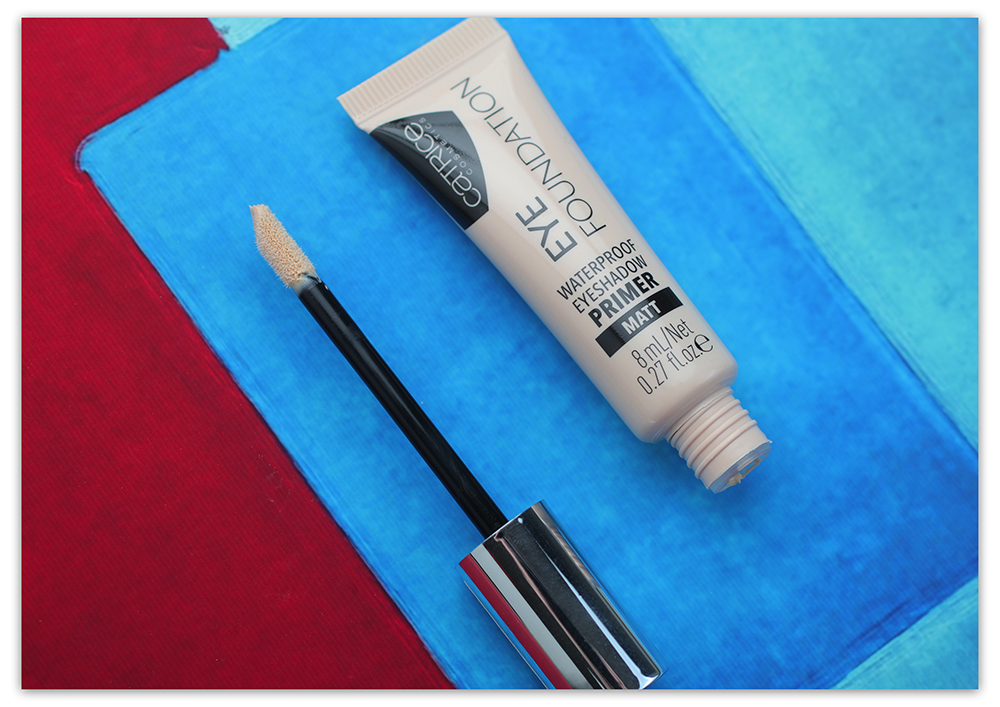 Catrice Eye Foundation Waterproof Eyeshadow Primer, База под тени Катрис, Праймер Катрис водостойкий отзывы