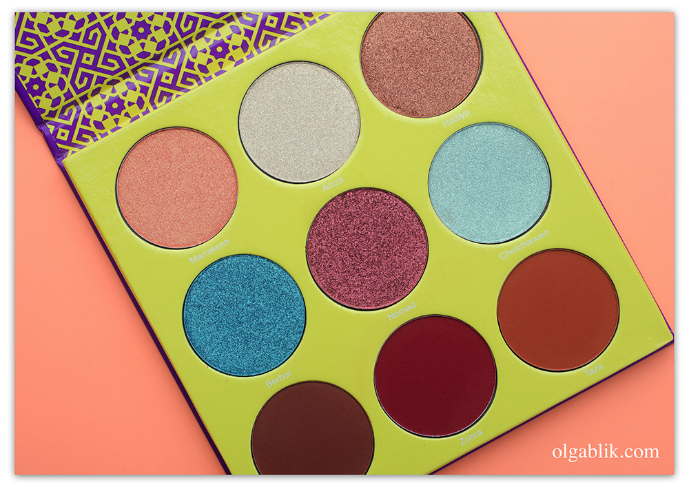 Juvia's Place The Saharan II Eyeshadow Palette, отзывы на палетку Juvia's Place, Juvia's Place фото