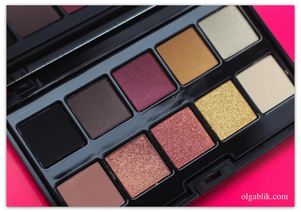 PUPA Makeup Stories Hot Flame Eyeshadow Palette, Тени для век Pupa, отзывы на палетку Пупа