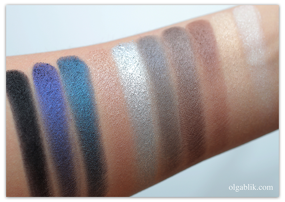 PUPA Make up Stories Palette Свотчи