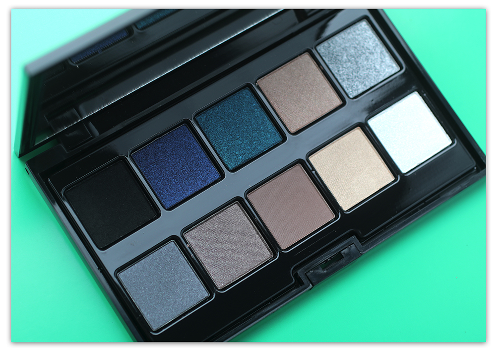 Тени для век PUPA Make up Stories Palette